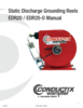 Manual - Grounding Reel EDR20