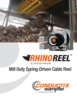 Catalog - RhinoReel, Mill Duty Spring Reel