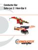Catalog - Conductor Bar, Safe-Lec 2 / Hevi-Bar II