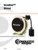 Manual - Cable Reels, VersaReel