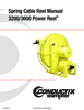 Manual - Cable Reels, 3200/3600 Series