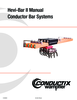 Manual - Conductor Bar, Hevi Bar II