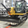 Battery-free AGVs on an Off-Highway Vehicle Assembly Line