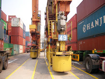 Energy supply for RTG Yard Application