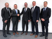 Partners for the future - completion of the acquisition of LJU Automatisierungstechnik GmbH in Potsdam by Conductix-Wampfler in Weil am Rhein.