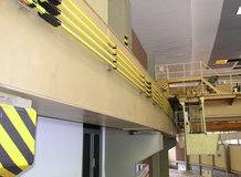 2 EOT Cranes in a hydroelectric plant