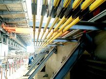 Gantry Crane in a Shipyard