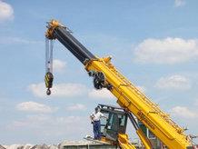 Spring reels for a Mobile Crawler Crane [Telescopic Crane 683 HD]